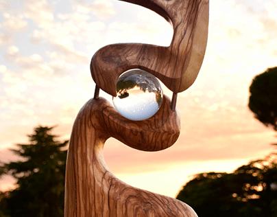 BOSON sculpture