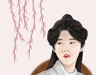 Luhan in XieLian character