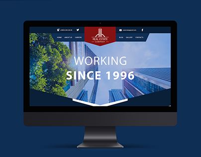 Building company web design