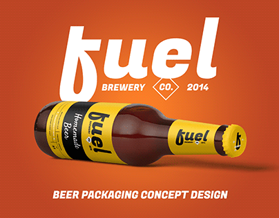 Fuel - Beer and brewery packaging concept design