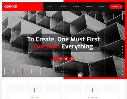 Cornice - Architecture Website Template