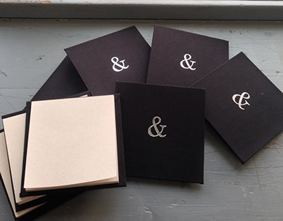 Notepads with Foil Stamp