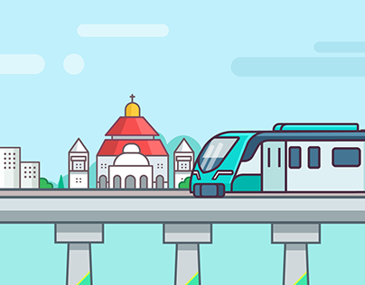 Kochi Metro, An animated journey