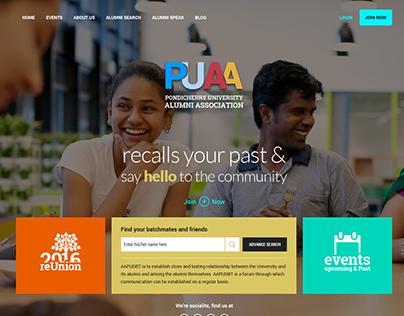 Alumni Portal Design