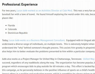 Social Career Builder - Lucas Jubb