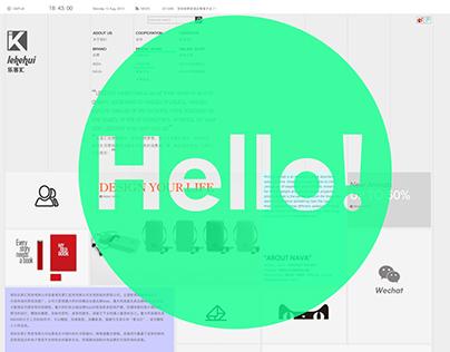 lochfeel 网页设计