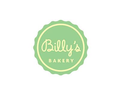 Billy's Bakery logo & labeling