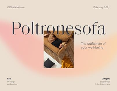 Poltronesofa - UI/UX Redesign