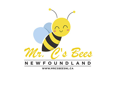 Mr.C's BEES NEWFOUNDLAND / LOGO