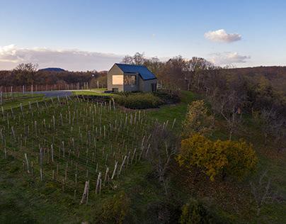 'Borterasz' - Wine terrace by SAGRA Architects