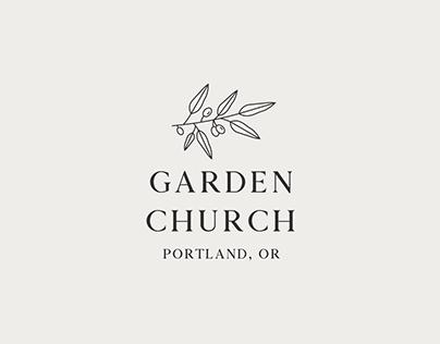 Garden Church Logo Design