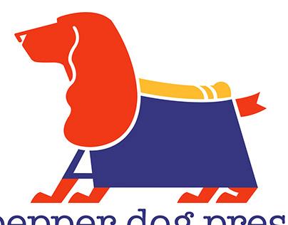 Pepper Dog Press Logo Design