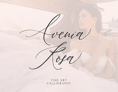 Avenia Script