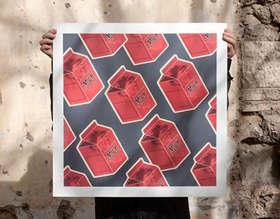 Mao's Milk / Benjamin Buckley / Silkscreen Print