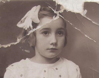 My grandmother in 1940