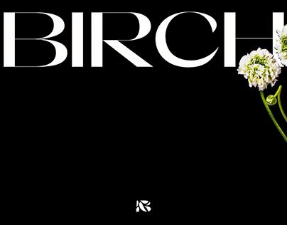 Birch Event Design Branding