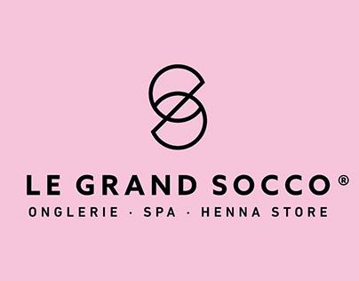 Le Grand Socco Onglerie.Spa.Henna Store - Brand design