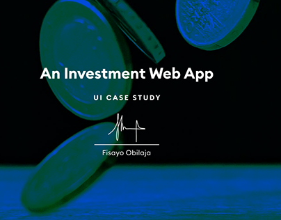 Investment Web App