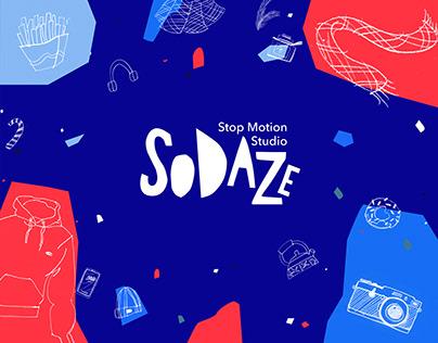 Visual identity for stop motion studio   So Daze