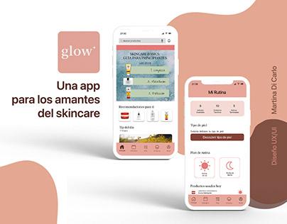 Glow App - Diseño UX/UI Coderhouse 2021