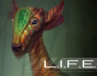 Concept Creature. Pollen carrier.