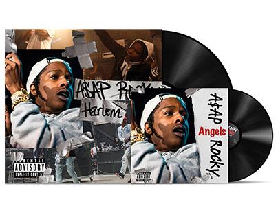 """A$AP Rocky – """"Harlem"""" (vinyl album) New 2020"""