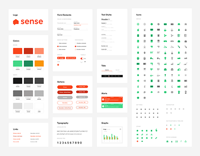 Sense Design Guidelines + Refresh 2018