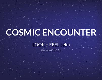 Cosmic Encounter | Game Training Website Look + Feel