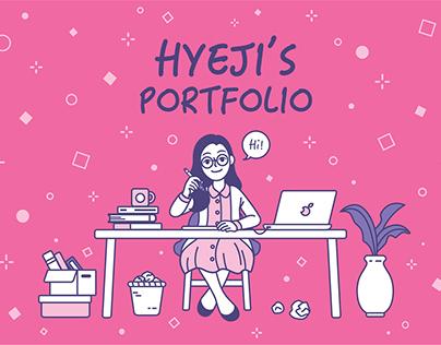 Hyeji's Portfoilo(2013-2017)