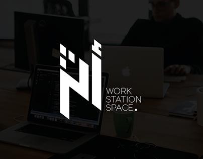ATHAR Work Station Work l Logo & Identity