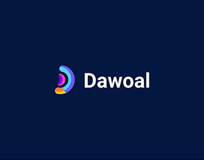 Modern D Letter - Brand Identity Logo Design
