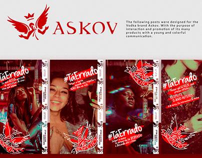 Social Media Askov Vodka