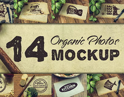 Organic Mockup Photos