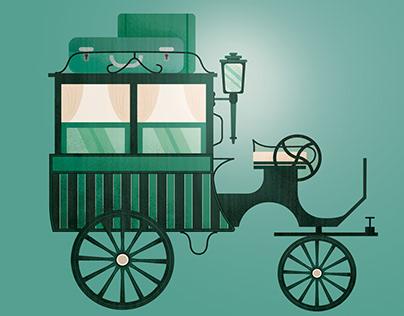 Omnibus illustration