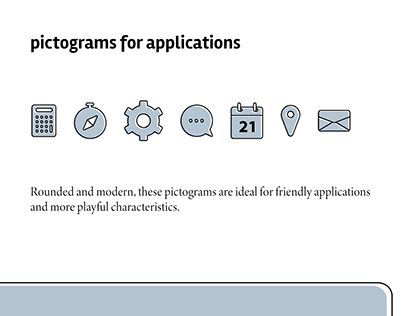 Pictograms for applications