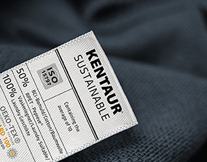 Suatainable care label design by Mp graphic Studio