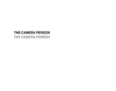 The Camera Person - Brand Identity