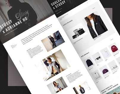 Stüssy — Responsive Website Concept