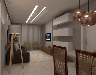Sala integrada | Living and Dining room