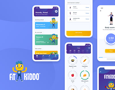 FitKiddo Fitness Mobile App