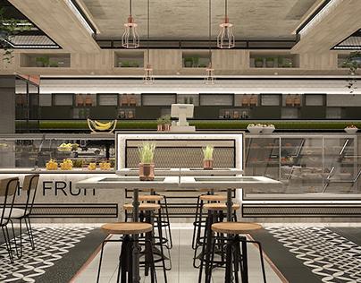 Antwerpen Station Coffee Shop