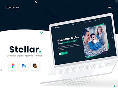 Stellar | Creative Digital Agency Theme