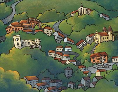 Kreslené Bojkovice