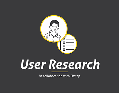 User Research Project in collaboration with Ekstep