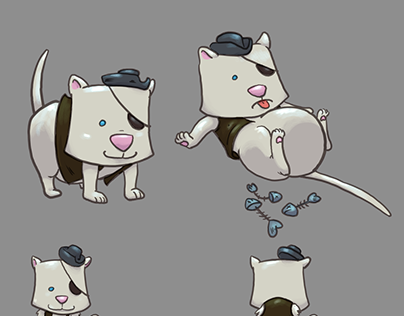 Pirate cat concept