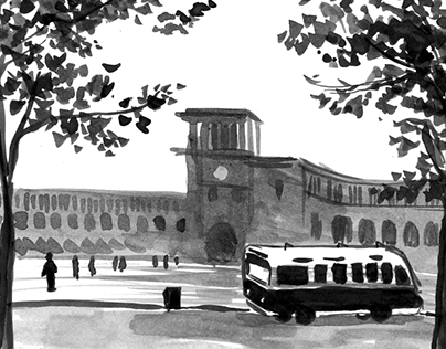 Old Yerevan postcards