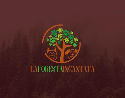 La Foresta Incantata // Logo & Identity design