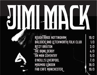 Jimi Mack Tour Poster