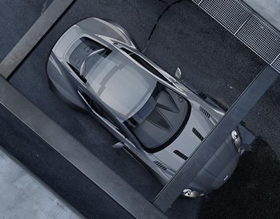 Aston Martin One 77 - CGI //