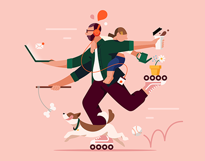Storytel Brand Illustrations